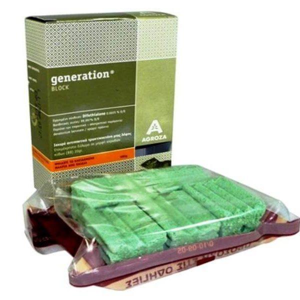 Τρωκτικοκτόνο Generation Block   100gr