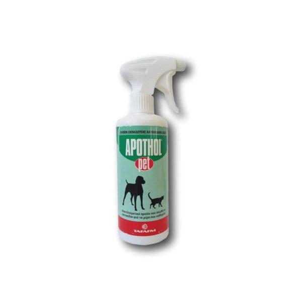 Απωθητικό Σκύλου Γάτας Apothol Pet | 500cc