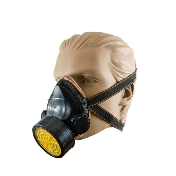 Μάσκα ψεκασμού μονή μαύρη AMD032 | 1τμχ