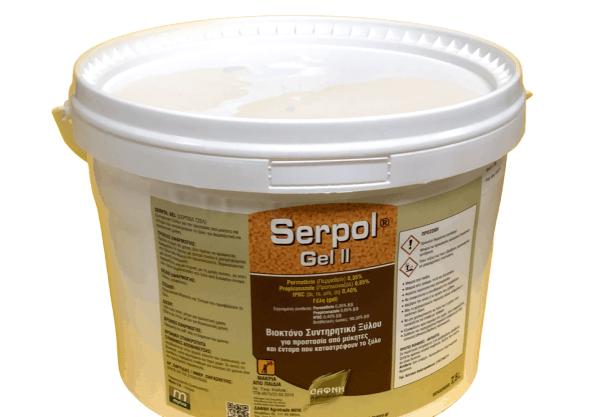 Βιοκτόνο Συντηρητικό Ξύλου Serpol Gel II | 7,5lt