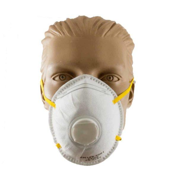 Μάσκα FFP2 Ενεργού Άνθρακα | 1τμχ