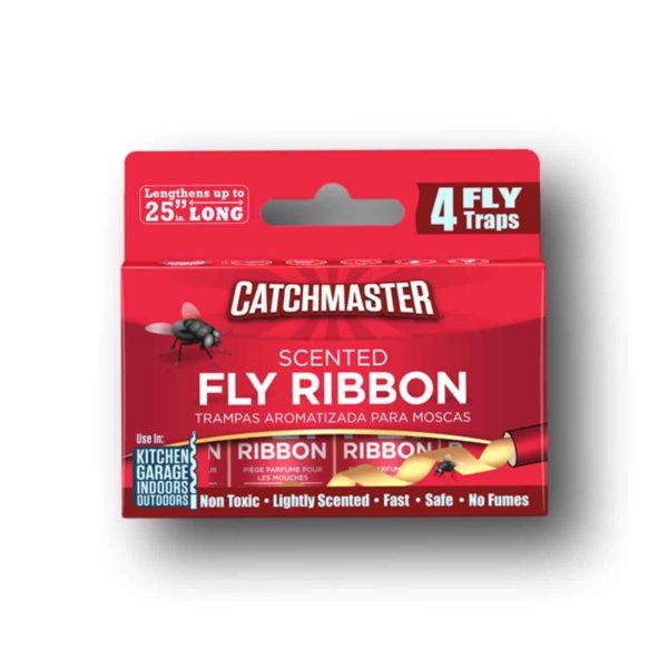 Κορδέλα για Μύγες με Κόλλα Scented Fly Ribbon | 4 τμχ