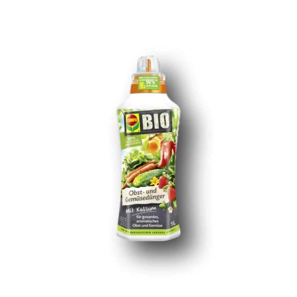 Λίπασμα Compo Bio για Λαχανικά και Φρούτα   1lt