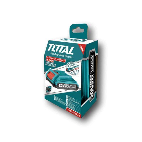 Μπαταρία Λιθίου Total TFBLI2001 20V/2.0Ah | 1 τμχ