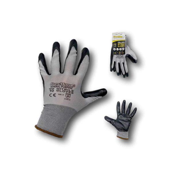 Γάντια νιτριλίου Cresman 50g γκρι | 1 ζεύγος