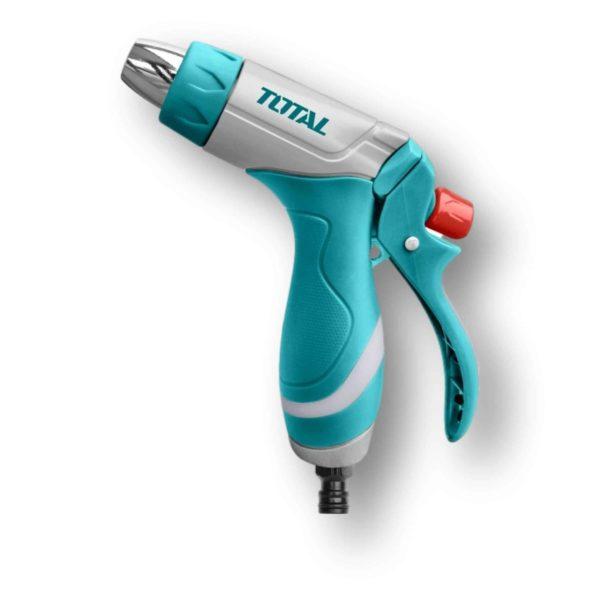 Πιστόλι Νερού Ρυθμιζόμενο Με Μεταλλικό Ακροφύσιο Total THZATN1031 | 1τμχ