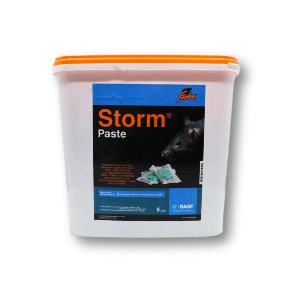 Τρωκτικοκτόνο Storm Paste 15gr 5kg | 1 τμχ