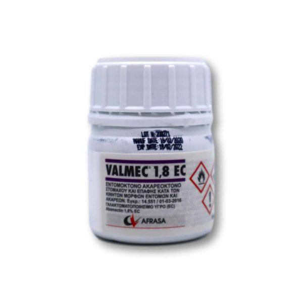 Εντομοκτόνο – Ακαρεοκτόνο Valmec 1,8 EC | 100 cc