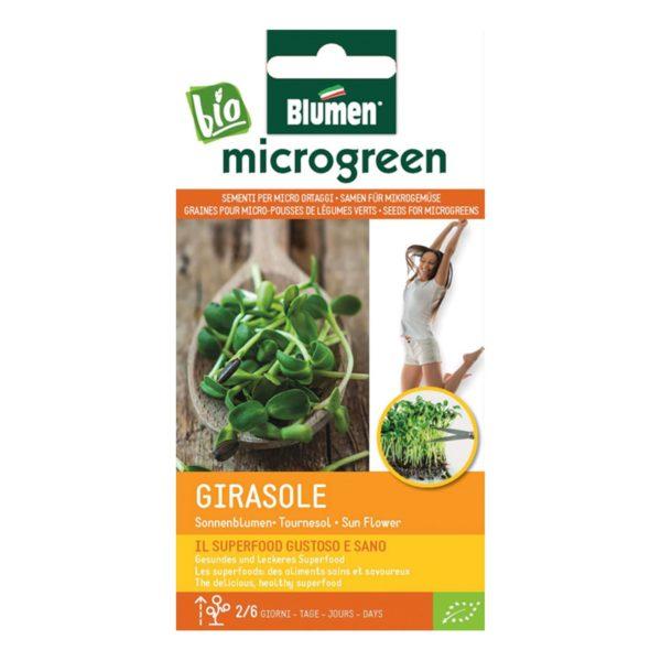 Σπόροι Για Microgreens Ηλίανθος Girasole   1 τμχ