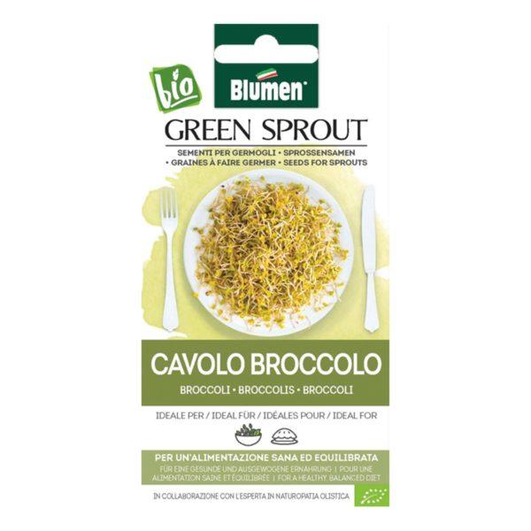 Σπόρος Για Φύτρες Μπρόκολου Cavolo Broccolo   1 τμχ
