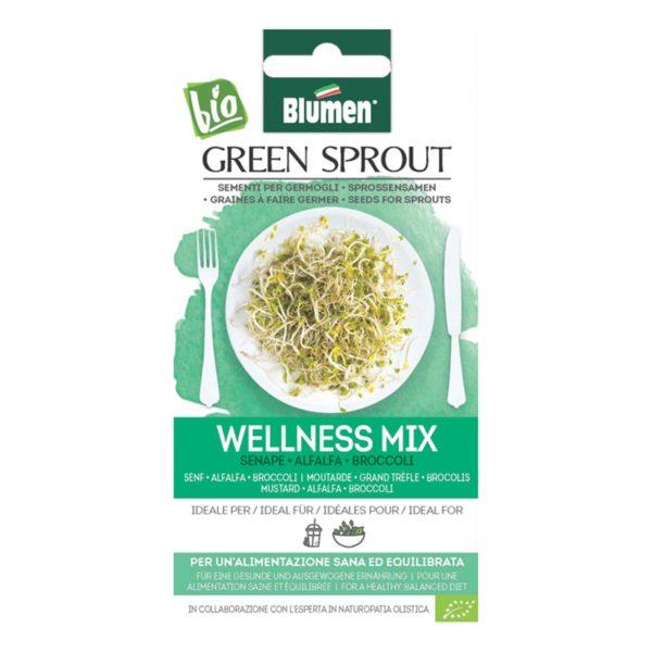Σπόρος Για Φύτρες Wellness Mix   1 τμχ