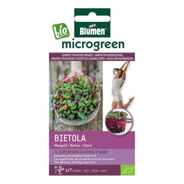 Σπόροι Για Microgreens Σέσκουλο Bietola   1 τμχ