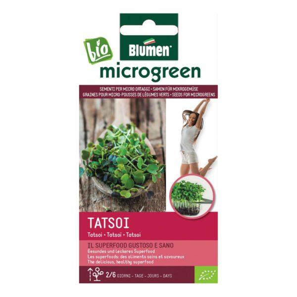 Σπόροι Για Microgreens Tatsoi   1 τμχ