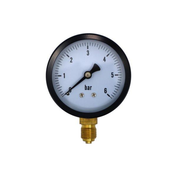 Μανόμετρο 1/4″BSP 0-6 Bar   1 τμχ