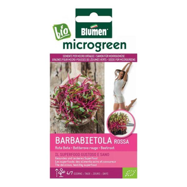 Σπόροι Για Microgreens Πατζάρι Κόκκινο Barbabietola Rossa   18 gr