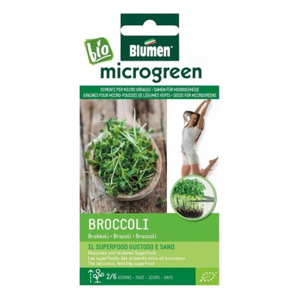 Σπόροι Για Microgreens Μπρόκολο Brocoli   18 gr