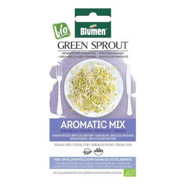 Σπόρος Για Φύτρες Αρωματικών Aromatic Mix   45 gr